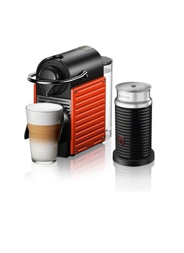 Nespresso C66R Pıxıe Red Bundle Kapsüllü Kahve Makinesi Kırmızı